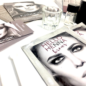 Henna for Lashes & Brows