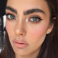 A Model Brow Tip